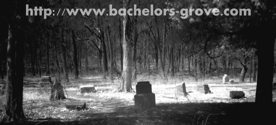 Bachelors grove seen in Infrared